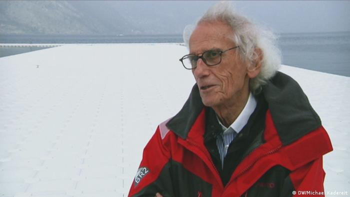 Portrait Christo (Foto: DW)