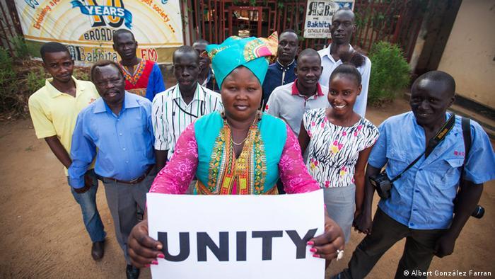 Josephine Achiro Fortelo, Leiterin Radio Bakhita, Südsudan, Foto: Albert González Farran