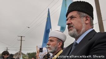 Krim Krimtataren Zeremonie 70. Jahrestag Deportation durch Stalin