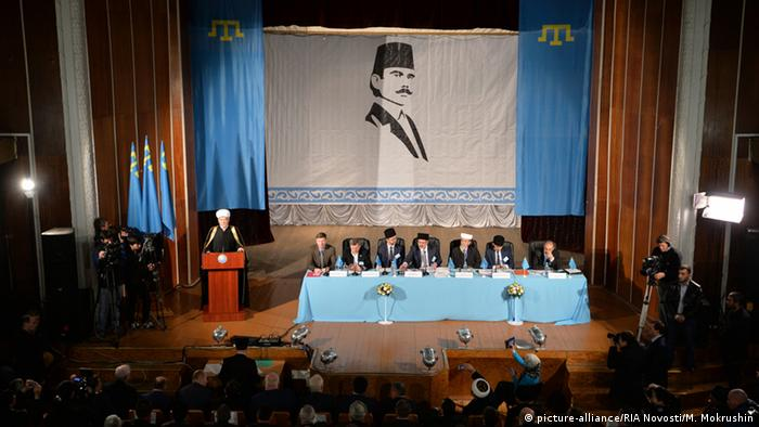 The Mejlis, the Tatar's representative assembly