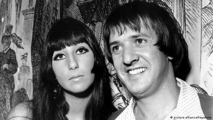 Cher and Sonny Bono, Copyright: picture-alliance/Keystone