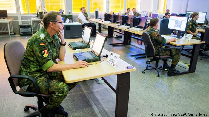 Бундесвер освоює кіберпростір