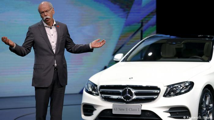 China Automesse in Peking - Daimler Dieter Zetsche