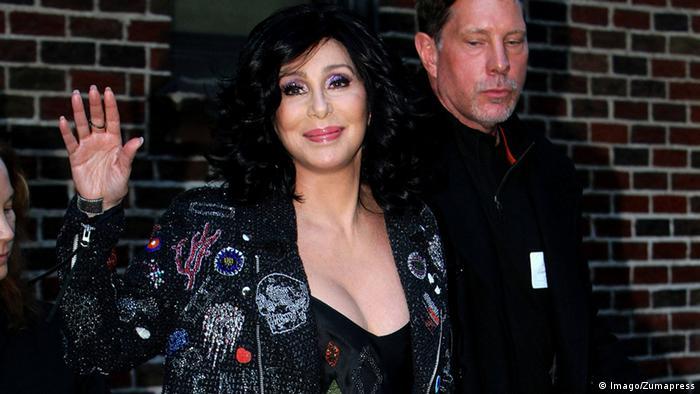 USA New York City Cher bei David Letterman (Imago/Zumapress)