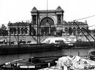 Ecletismo arquitetônico: Estação ferroviária Lehrter-Bahnhof, Berlim, 1869-71