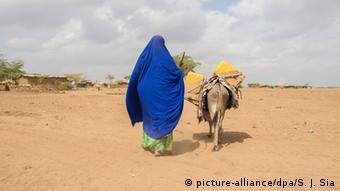 Äthiopien Dürre Trockenheit