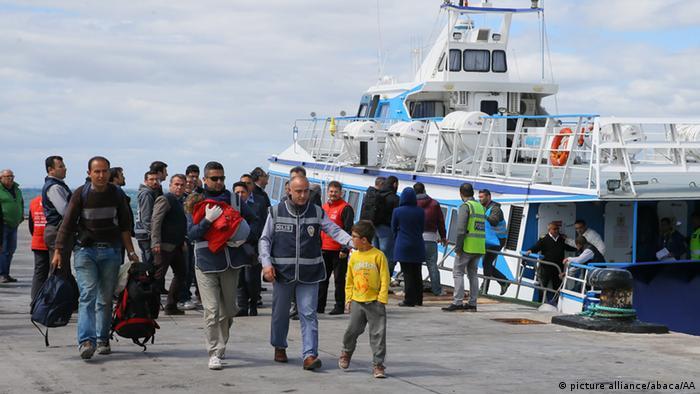 Türkei Griechenland Abschiebung von Flüchtlingen
