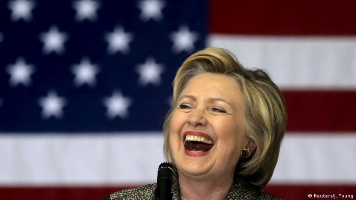 USA Indiana Vorwahlen Hillary Clinton