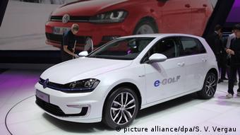 Модель E-Golf концерна Volkswagen