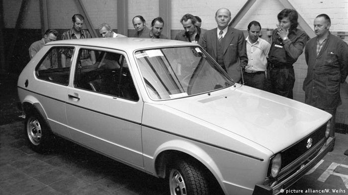 Volkswagen Golf first generation, Copyright: picture alliance/W. Weihs