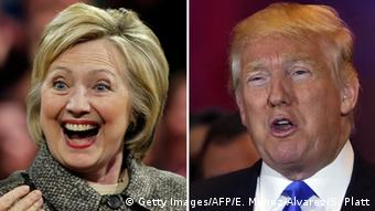 USA Vorwahlen Hillary Clinton und Donald Trump (Getty Images/AFP/E. Munoz Alvarez/S. Platt)