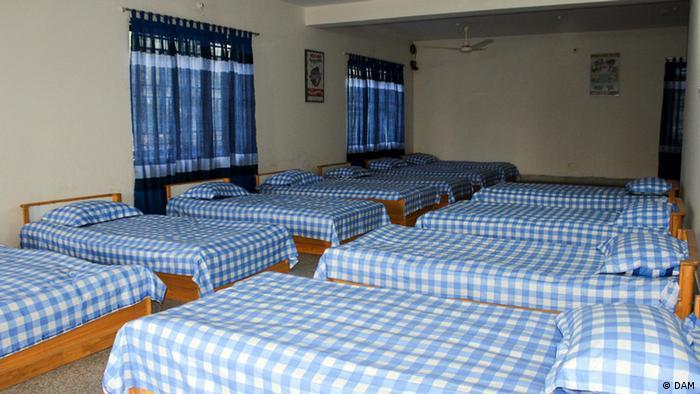 Bangladesch Dhaka Ahsania Mission Schlafsaal