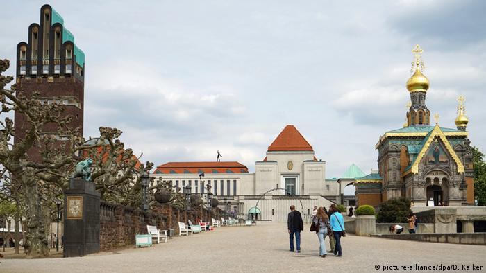 Cidade alemã de Darmstadt