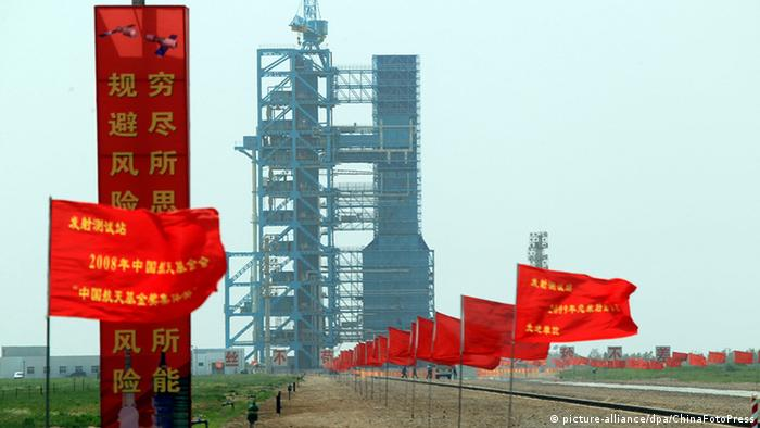 China Shenzhou 9 Rakete Startrampe