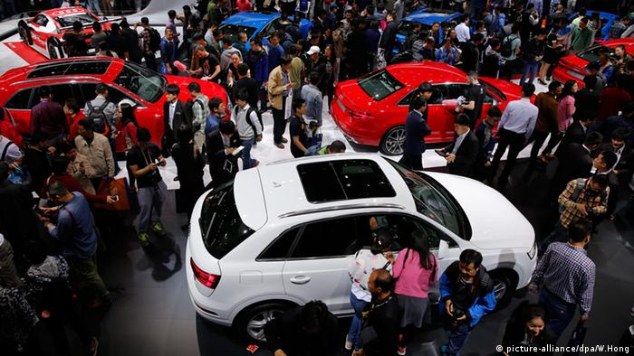 China Auto Show Peking Internationale Automobil Ausstellung 2016 (picture-alliance/dpa/W.Hong)