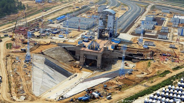 Russland Bau Wostotschny Kosmodrom