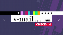 04.2016 Check-in V-Mail (Rubrikenlogo)