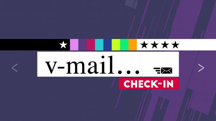 04.2016 Check-in V-Mail (Rubrikenlogo)