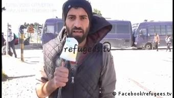 Screenshot Facebook/refugees.tv