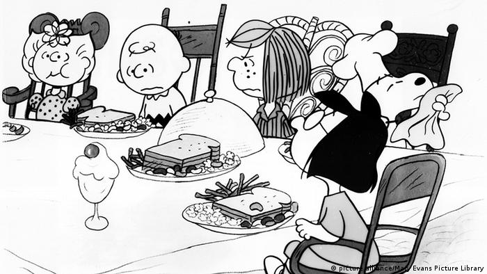 Illustration zu Thanksgiving Foto: picture alliance/Mary Evans Picture Library