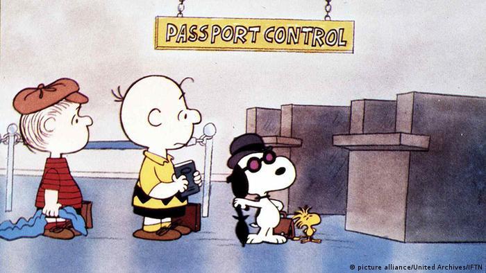 Charlie Brown, Schroeder und Snoopy im Film Bon Voyage, Charlie Brown Foto: picture alliance/United Archives/IFTN