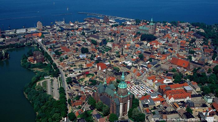 Старый город в Штральзунде