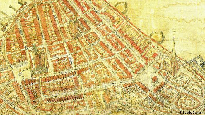 Историческая карта Штральзунда