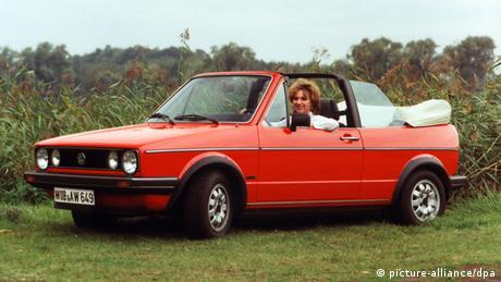 Volkswagen Golf Cabrio, Copyright: picture-alliance/dpa