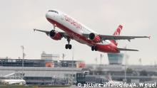 Air Berlin Maschine startet
