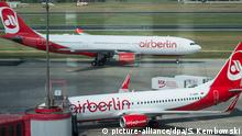 Air Berlin Maschinen