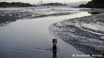 A channel leading into Guanabara Bay, Rio de Janeiro