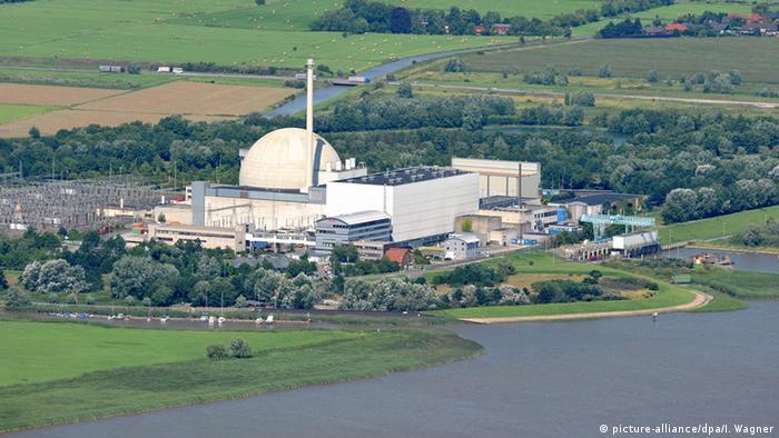 Deutschland Kernkraftwerk Unterweser
