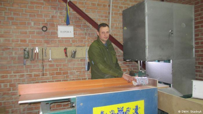 Ukraine Lemberg - Leben von Donbass-Veteranen