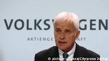 Matthias Müller, director ejecutivo de VW.
