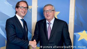 Belgien Alexander Dobrindt und Jean-Claude Juncker in Brüssel