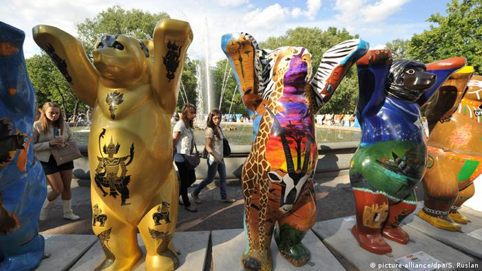 Берлинские медведи в Санкт-Петербурге