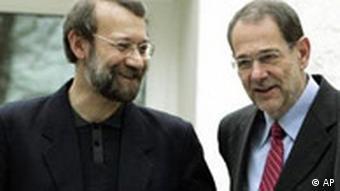 Ali Larijani zu Gast bei der EU