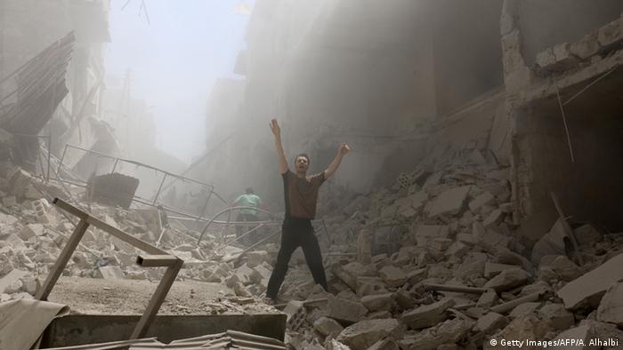 Syrien Krieg Kämpfe in Aleppo