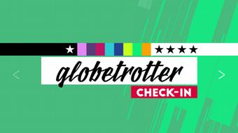 Rubrikenlogo von Globetrotter aus DW-Check-in- Sendung