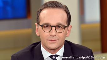 Heiko Maas Federal Justice Minister
