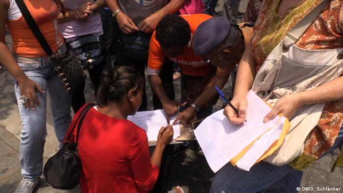 Referendum gegen Maduro in Venezuela