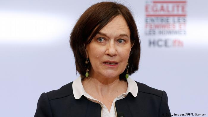 French minister for women's rights Laurence Rossignol