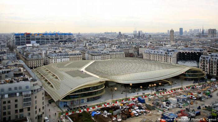 Les Halles in Paris in Frankreich (Foto: Picture-alliance/AP photo/Th. Camus)