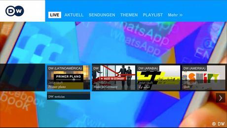 DW für Smart TV App