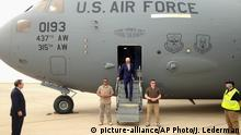 Irak US-Vizepräsident Joe Biden Ankunft in Bagdad