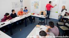 Schüler Migranten im Integrationskurs