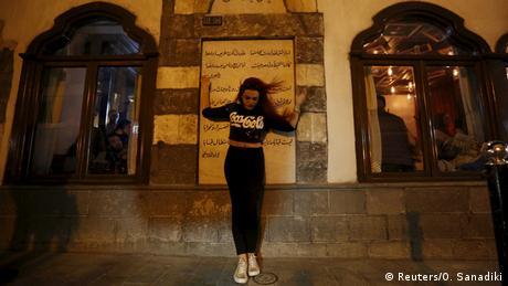 Syrien Nachtleben in Damaskus