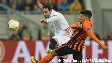 Fussball FC Shakhtar gegen Sevilla FC