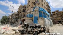 Syrien Krieg Kämpfe in Aleppo - Zerstörung Krankenhaus Ärzte ohne Grenzen