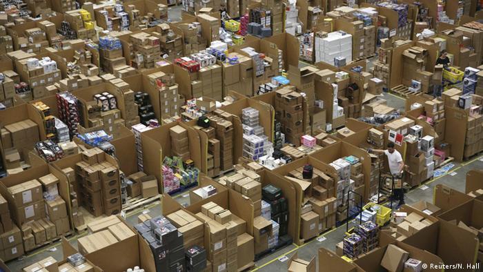 Symbolbild Amazon Lager